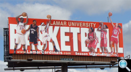 Lamar Billboard 460 West Cardinal Dr (Highway 69/96/283), Beaumont, TX